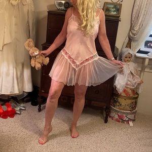 Vintage short lingerie nightgown